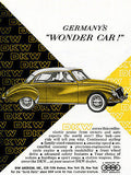 1959 DKW - Germany's Wonder Car! - Promotional Advertising Poster