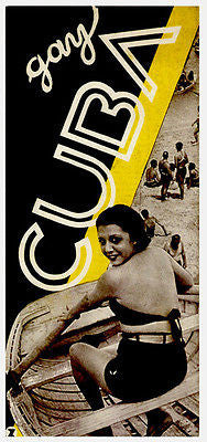 1930's - Gay Cuba - Travel Advertising Poster