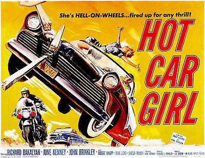 Hot Car Girl - 1958 - Movie Poster Mug