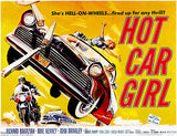 Hot Car Girl - 1958 - Movie Poster