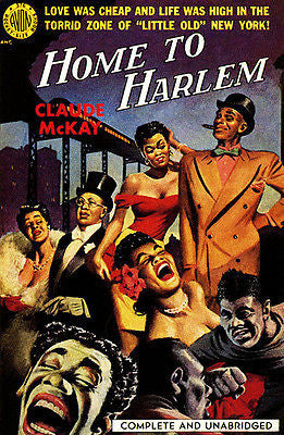 Home To Harlem - 1951 - Pulp Novel Cover Poster