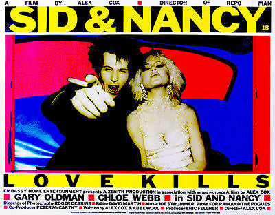 Sid & Nancy - Love Kills - 1986 - Movie Poster