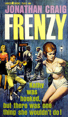 Frenzy  - 1962 - Pulp Novel Cover Poster