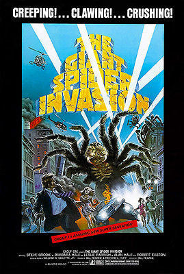 The Giant Spider Invasion - 1975 - Movie Poster