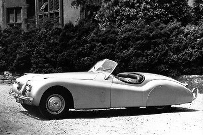 1948 Jaguar XK 120 - Promotional Photo Poster