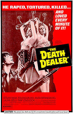 The Death Dealer - 1974 - Movie Poster