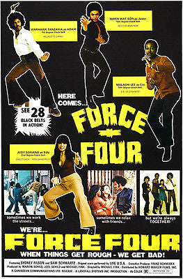 Force Four - 1974 - Movie Poster