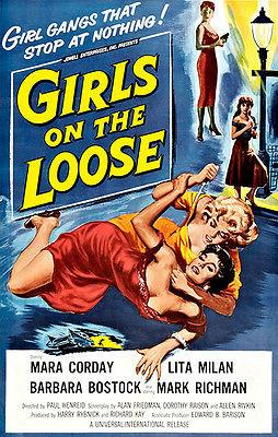 Girls On The Loose - 1958 - Movie Poster Mug