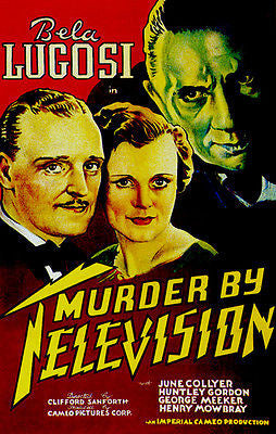 Murder By Television - 1935 - Movie Poster