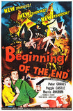 Beginning Of The End - 1957 - Movie Poster