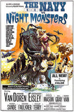 The Navy vs The Night Monsters - 1966 - Movie Poster