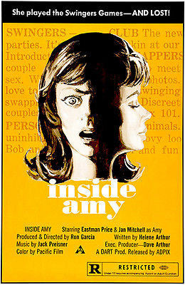 Inside Amy - 1975 - Movie Poster