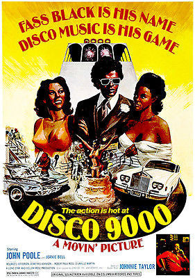 Disco 9000 - 1976 - Movie Poster