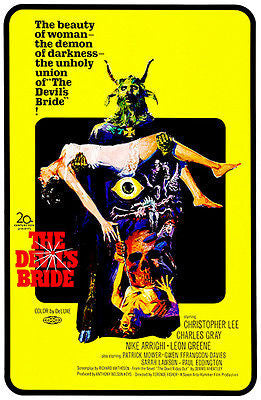 The Devil's Bride - 1968 - Movie Poster