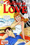 Falling In Love #62 1963 - Comic Book Cover Poster