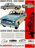 1958 Austin - Promotional Advertising Poster