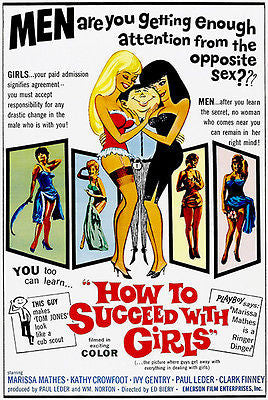 How To Succeed With Girls - 1964 - Movie Poster