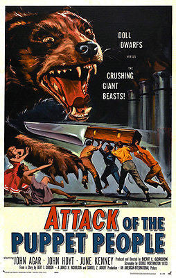 Attack of the Puppet People - 1958 - Movie Poster