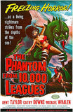 The Phantom From 10,000 Leagues - 1955 - Movie Poster