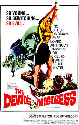 The Devil's Mistress - 1966 - Movie Poster