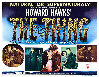 The Thing From Another World - 1951 - Movie Poster