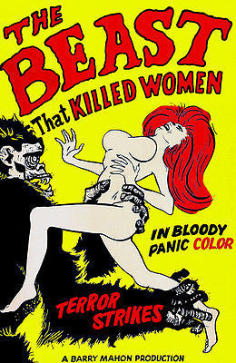 The Beast That Killed Women - 1965 - Movie Poster
