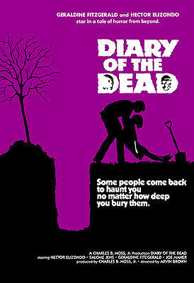 Diary of the Dead - 1976 - Movie Poster