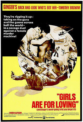 Girls Are For Loving - 1973 - Movie Poster