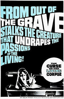 The Curse of the Living Corpse - 1964 - Movie Poster