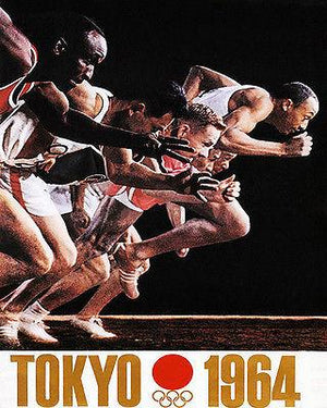1964 - Summer Olympics - Tokyo - Promotional Advertising Magnet