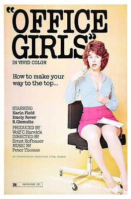 Office Girls - 1971 - Movie Poster