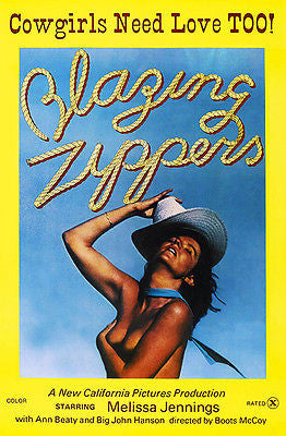 Blazing Zippers - 1976 - Movie Poster