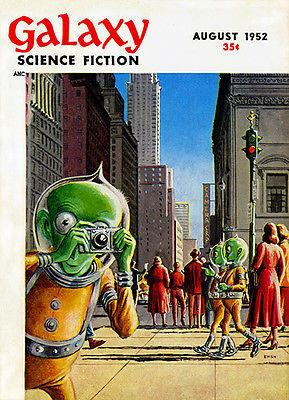 Galaxy Science Fiction - August 1952 - Magazine Cover Mug