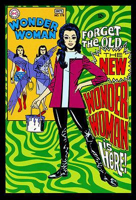 Wonder Woman #178 - October 1968 - Comic Book Cover Magnet