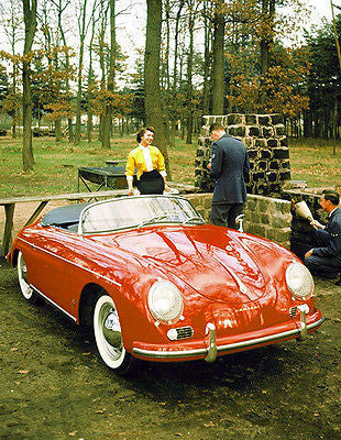 1956 Porsche Type 356A Speedster - Promotional Photo Poster