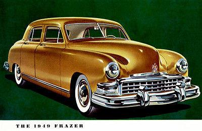 1949 Frazer Sedan - Promotional Advertising Mug