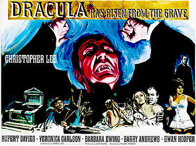 Dracula Has Risen from the Grave - 1968 - Movie Poster #2