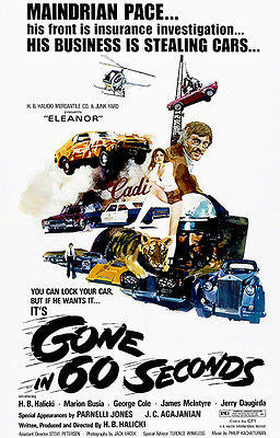 Gone In 60 Seconds - 1974 - Movie Poster