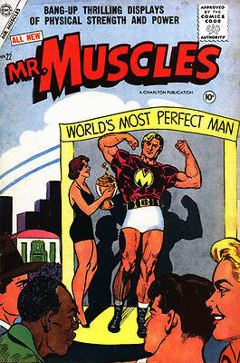 Mr. Muscles #22 - March 1956 - Comic Book Cover Poster