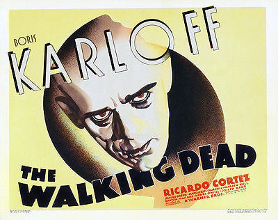 The Walking Dead - 1936 - Movie Poster