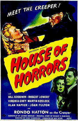 House of Horrors - 1946 - Movie Poster