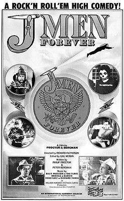 J Men Forever - 1979 - Movie Poster Mug