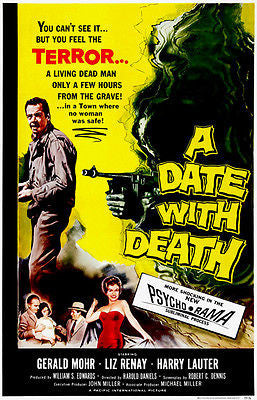 A Date With Death - 1959 - Movie Poster