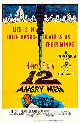 12 Angry Men - 1957 - Movie Poster Magnet