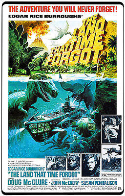 The Land That Time Forgot - 1975 - Movie Poster