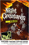 Night Creatures - 1962 - Movie Poster