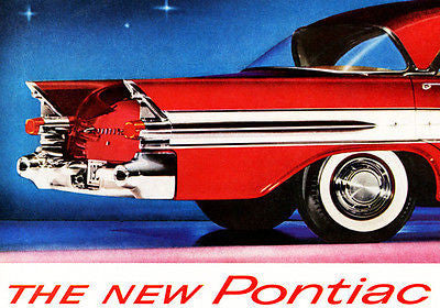 1957 Pontiac - The New Pontiac - Promotional Advertising Poster
