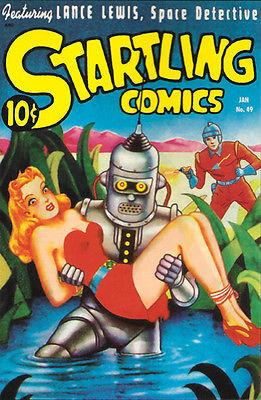 Startling Comics - #49 January 1948 - Comic Book Cover Magnet
