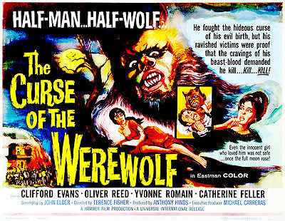 The Curse of the Werewolf - 1961 - Movie Poster
