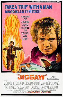 Jigsaw - 1968 - Movie Poster